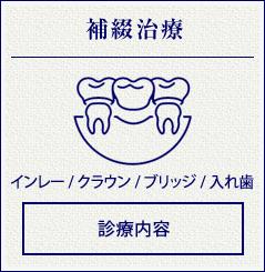補綴治療(インレー / クラウン / ブリッジ / 入れ歯 )